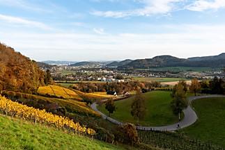 Sicht auf Neftenbach und Winterthur