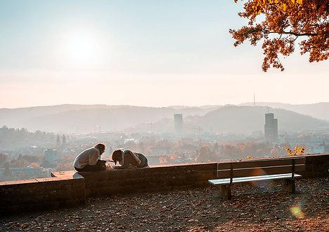 "Wandbild Motiv: ""Winterthur im Herbst"""