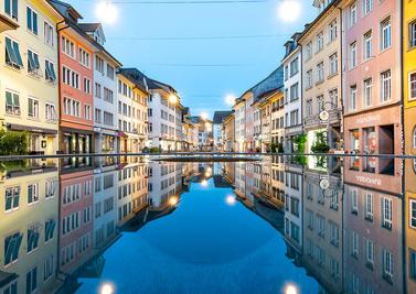 Winterthur Wandbild