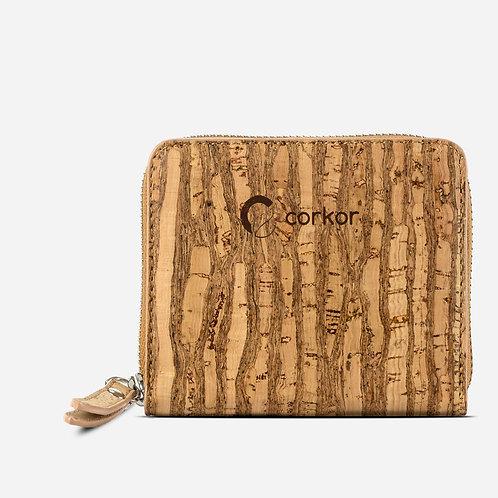 Corkor Damen Kork Portemonnaie RFID sicher (mehrere Farbvarianten)