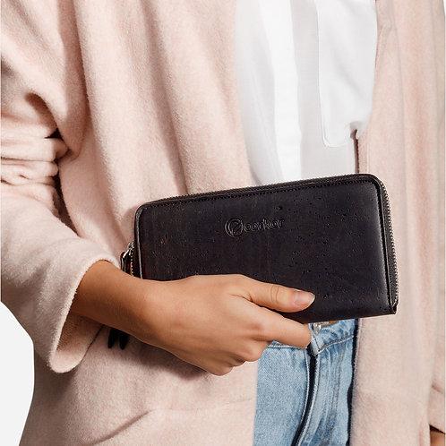 Corkor Damen Kork Portemonnaie lang RFID sicher (mehrere Farbvarianten)