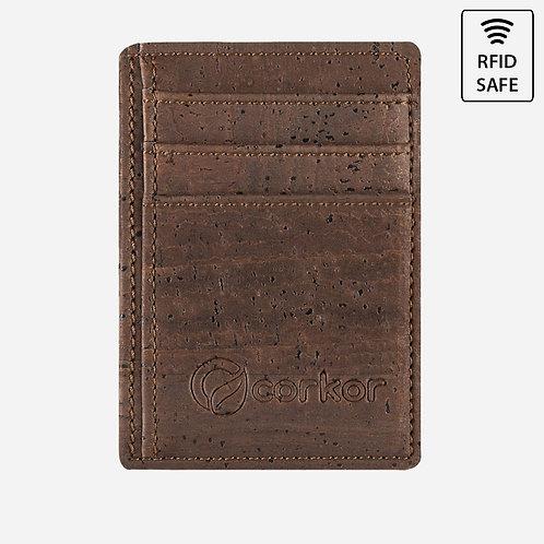 Corkor Kork Kreditkarten Portemonnaie RFID sicher (mehrere Farbvarianten)