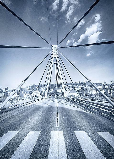 Storchenbrücke Winterthur Postkarte A6