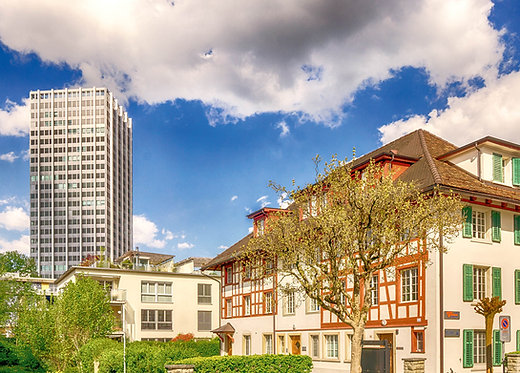 Sulzer Hochhaus Winterthur Postkarte A6