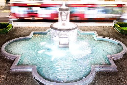 """Wandbild Motiv: """"Stadthausbrunnen"""""""