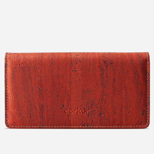 Corkor Damen Kork Portemonnaie bifold (mehrere Farbvarianten)