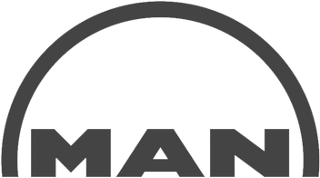 Man truck and bus logo