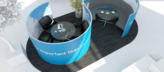 pod work office space design planning work