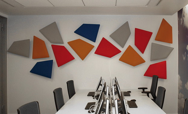 acoustics sound control panels wall office modern