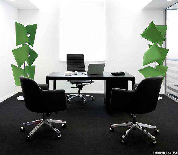 office totem acoustics sound control