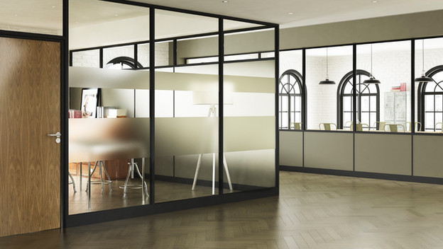 sektor glazed partitioning