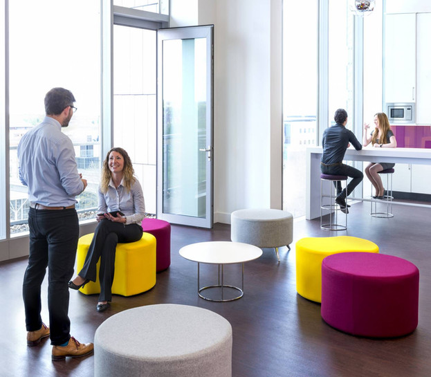casual furniture commercial office work space fit-outs
