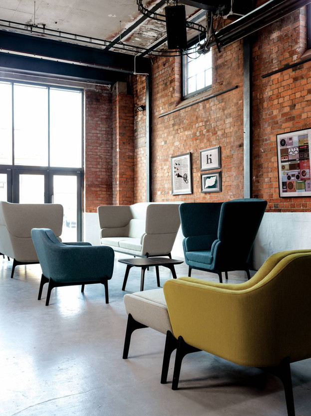 office sofa armchair commerical fit out refurbishment