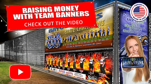 Raising Money with Team Banners Title Sl
