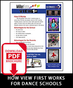 Download How View First For Dance Flyer.
