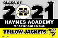 Haynes High School Generic 2021 16x24 we
