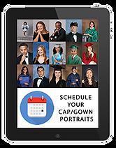 schedule cap gown portraits Tablet.png