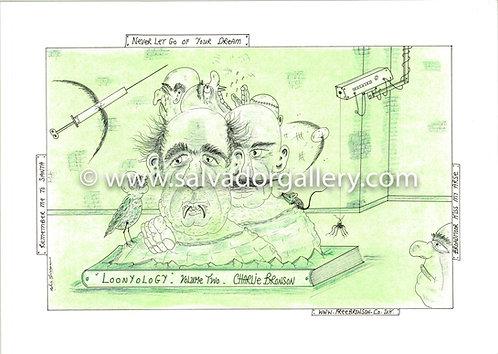A3 PRINT 'Dead Man Breaking' - A3 Limited Edition Artwork 1/250