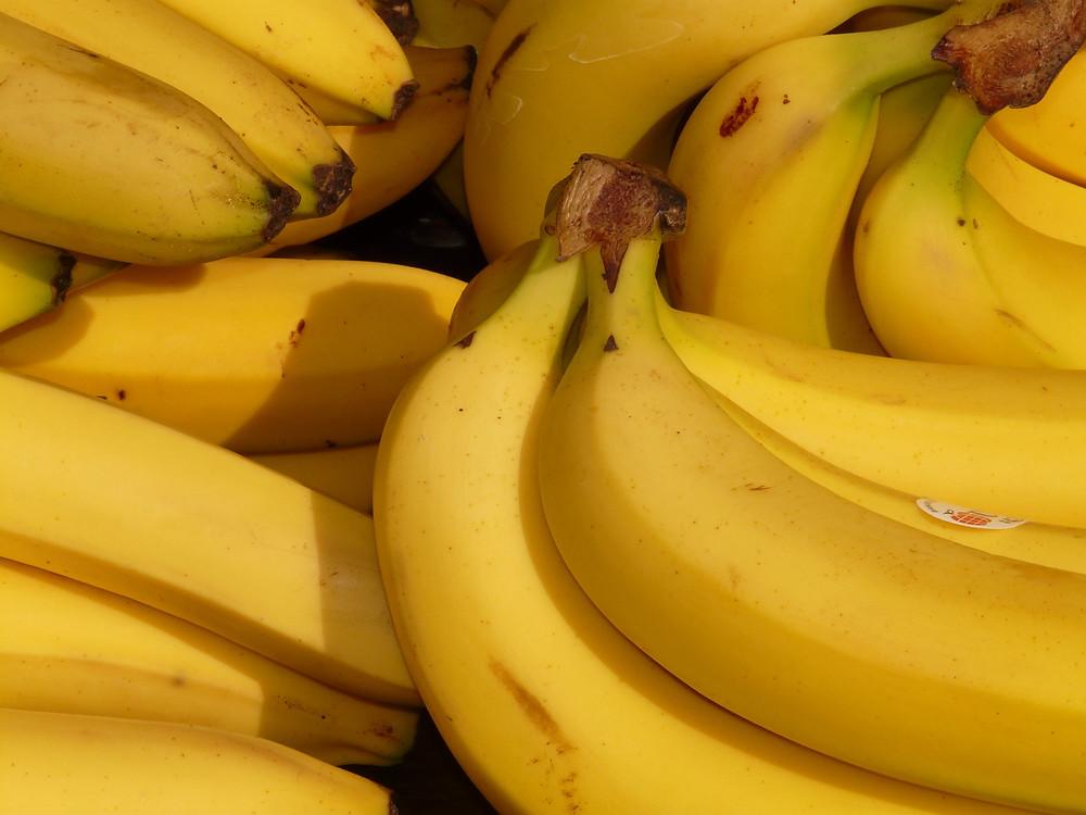 Healthy banana ice cream