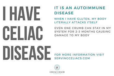Celiac Disease Prinable