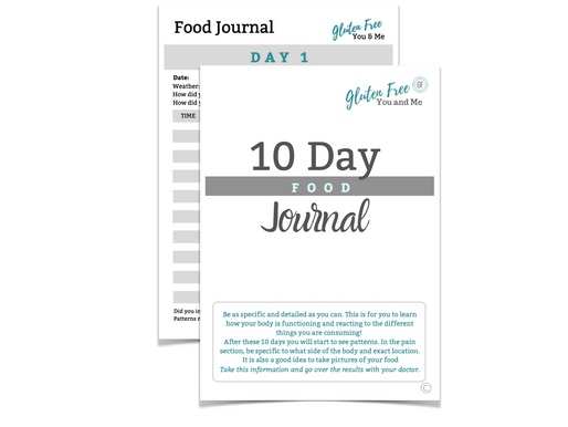 When Gluten Free is Not Enough Part 2 + Food Journal