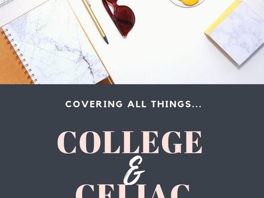 College, Social Life, Gluten Free as a Celiac❤️