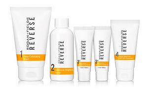 Reverse for uneven skin tones