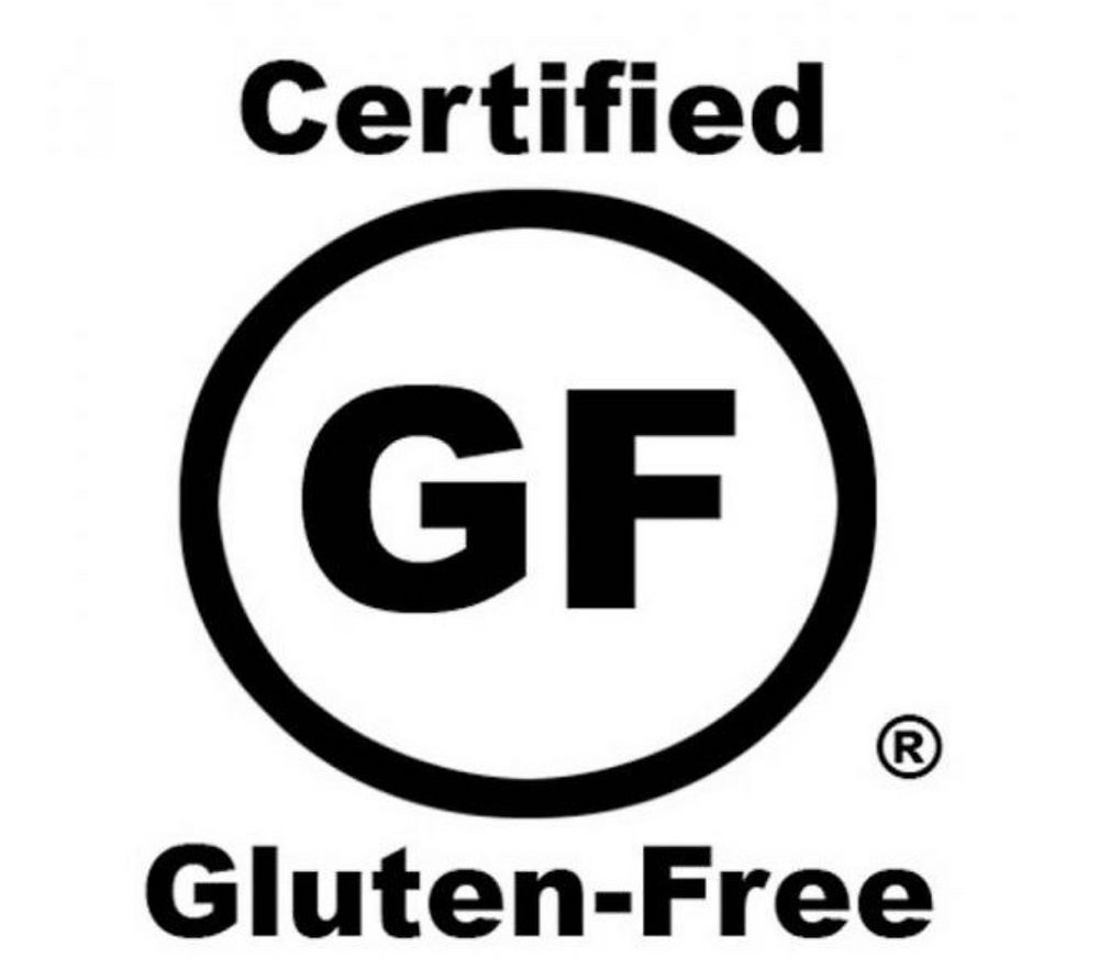 This label means it has 10 PPM or less of gluten.