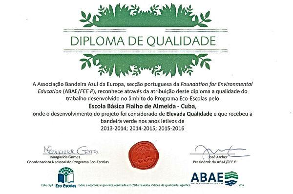 Diploma de Qualidade