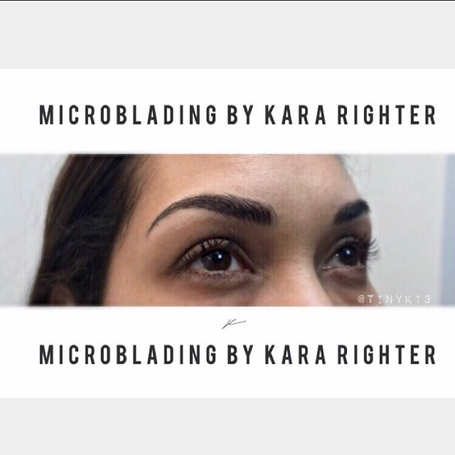 Eyebrow enhancement done right. Whoever told you Microblading looks unnatural or fake was lying.jpg