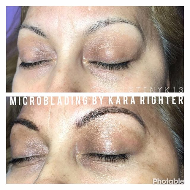 Another throwback of some of my first work #microblading #eyebrows #art #westchester #westchestercou