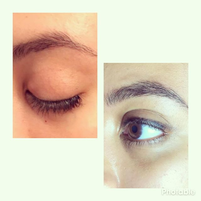 Microblading #firsttattoo #skin #browneyes #subtle #browenhancement #l4l #instagood #love #eyebrows
