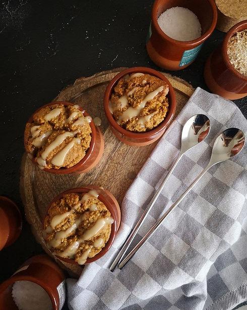 Baked Oats mit Alpensalz