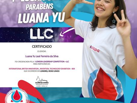 Parabéns aos nossos alunos pela qualificação na LLC