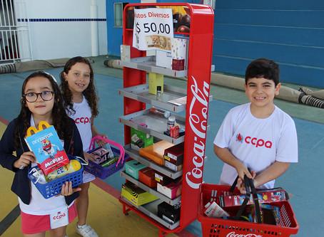 """""""Supermercado na escola- Projeto Feira da Matemática"""""""