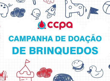 CAMPANHA DE DOAÇÃO DE BRINQUEDOS