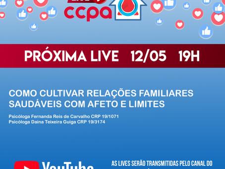 LIVE CCPA EM CASA 12/05