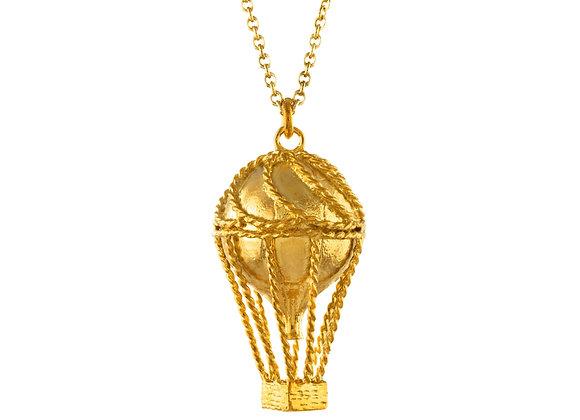 Alex Monroe Hot Air Balloon Necklace