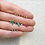 Thumbnail: Mini Hexa Gemstone Stud