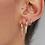 Thumbnail: Original Hoop Earring