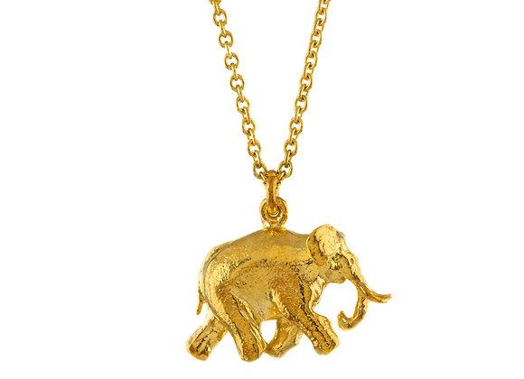 Alex Monroe Indian Elephant Necklace