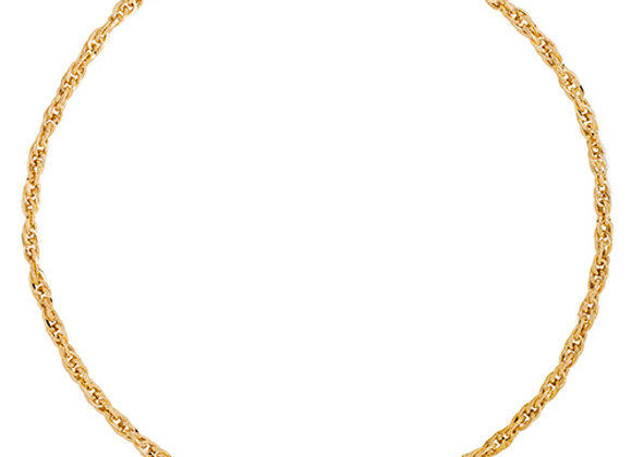 """9ct Yellow Gold 18"""" Necklet"""