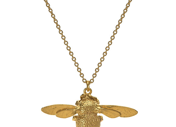 Alex Monroe Bumblebee Necklace Gold Plated