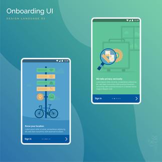 Onboarding UI