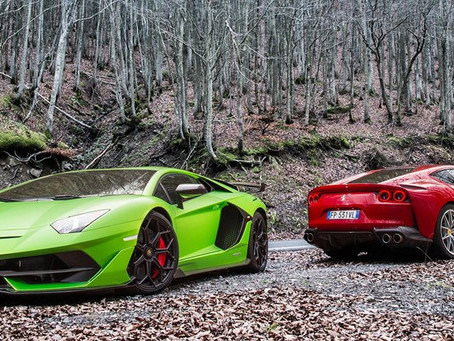 The top 3 supercars in the world
