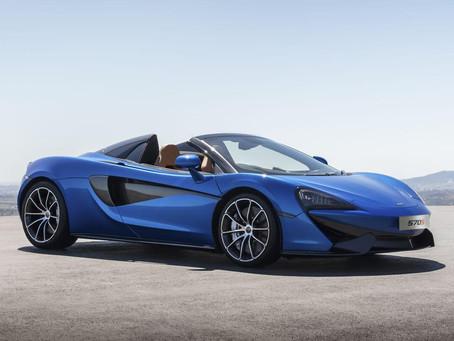 McLaren 570s Spider - Exotic Rentals & Retreats