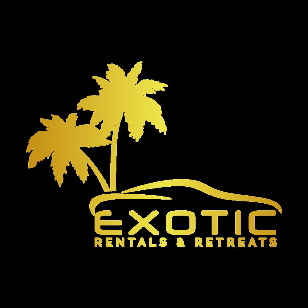 exotic rentals and retreats logo