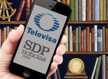 La camaleónica alianza entre Televisa y SDPnoticias