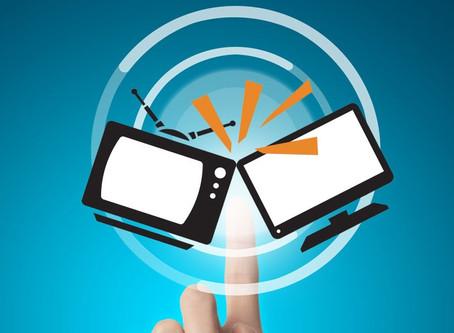 La crisis de la televisión vs la cobertura de internet