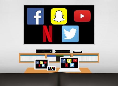 Facebook, Netflix, Snapchat, Twitter, YouTube... Televisión por todas partes